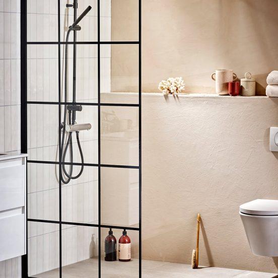 Bild lånad från Alterna - skärmvägg i badrum